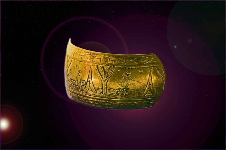 Iroquois Bracelet & Art 4a