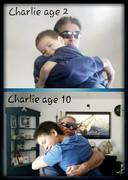 me n charlie...big hugs
