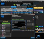 Freeroll USD88.00 en 888Poker - 28/10/2012    20:08CT