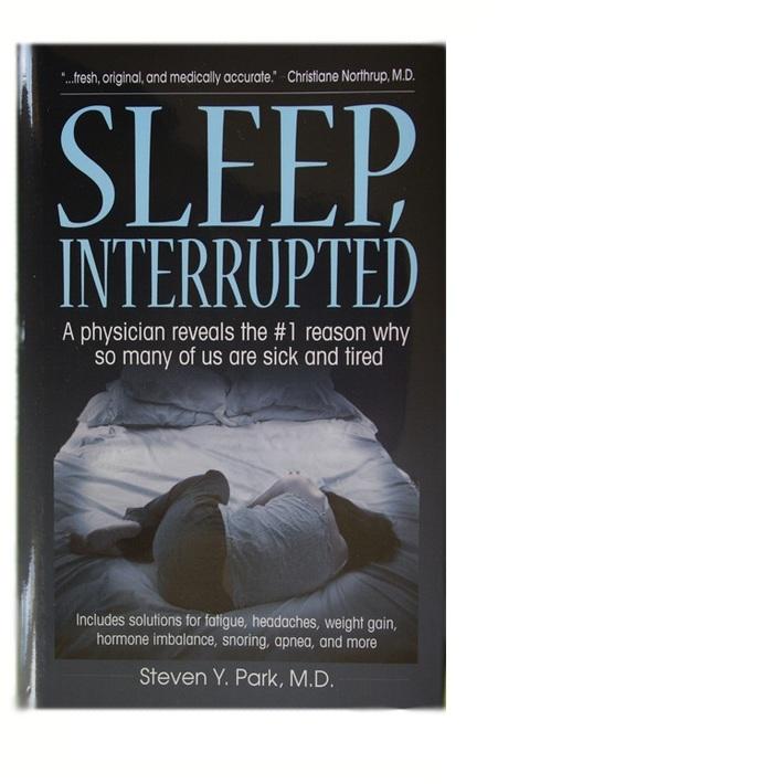 Sleep Interrupted Book by Dr Steven Park