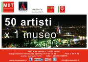 Exhibition at the INTERNATIONAL MUSEUM OF CONTEMPORARY AND MODERN ART ITALIA ARTE