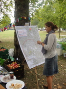 Queen's Park Day stall 13th Sept by pw