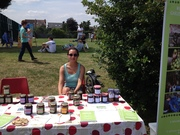 Nice spread of Molly's chutneys and Janey's jams!