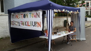 Stall at street party in Kensal Triangle