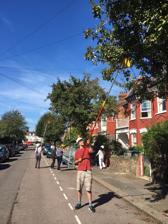 Willesden Harvesters street pick