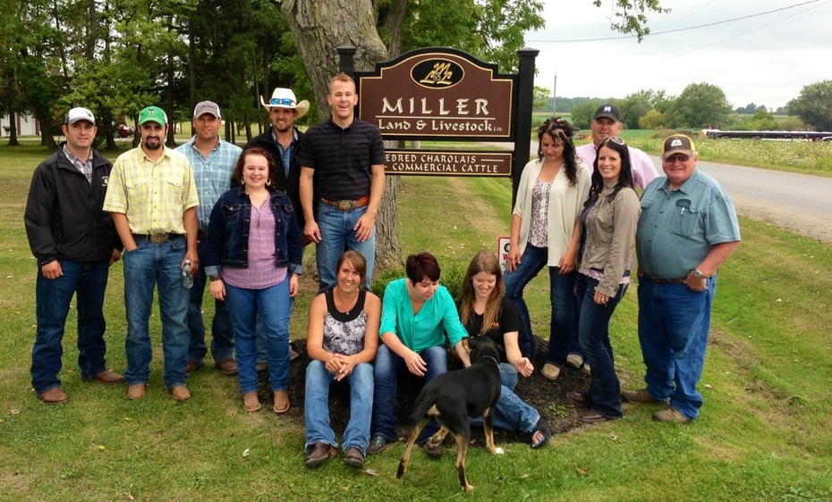 CYL-ers at Miller Land & Livestock