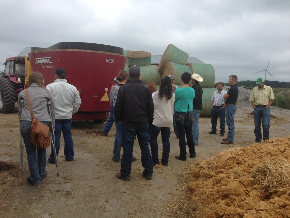 Learning about the feeding system