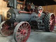 Steam engine (on-farm museum)