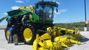 New John Deere Forage Harvester Introduced.