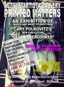 Printed Matters Exhibition and Book Signing