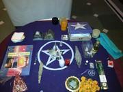Magickal Altar and various supplies