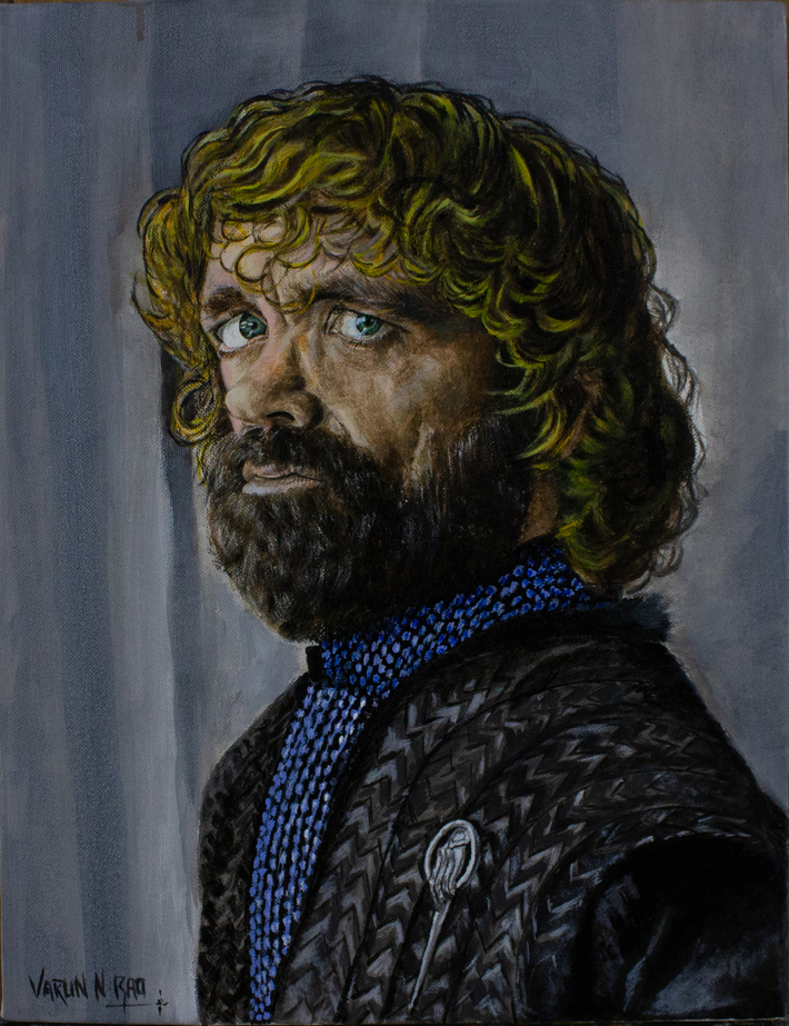 Acrylic Painting - Tyrion Lannister