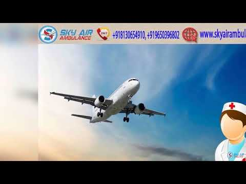 Use India's Superior ICU Setup Air Ambulance Service in Siliguri by Sky