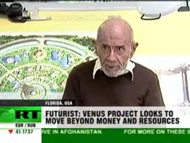 RT News: Interviews Jacque Fresco of the Venus Project