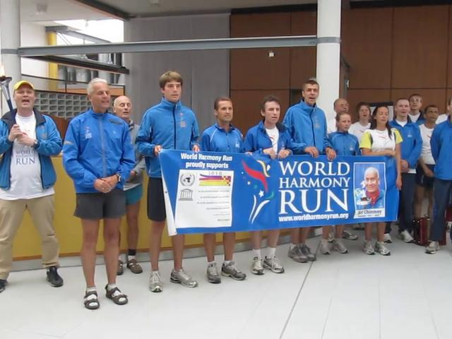 World Harmony Run 2010: Hymn