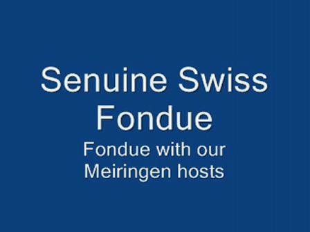 Fondue with Hosts