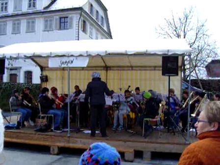 Sachseln Youth Band at Christmas