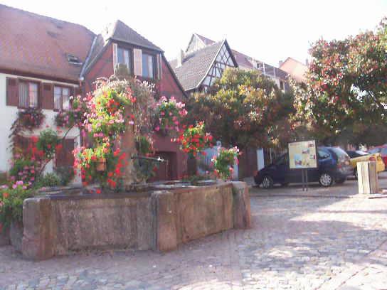 Bergheim in Alsace (France)