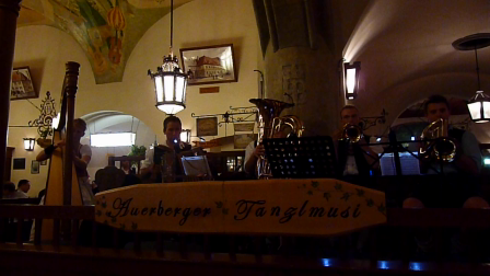 Live from the Hofbräuhaus in Munich