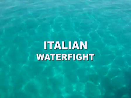 Italian waterfight