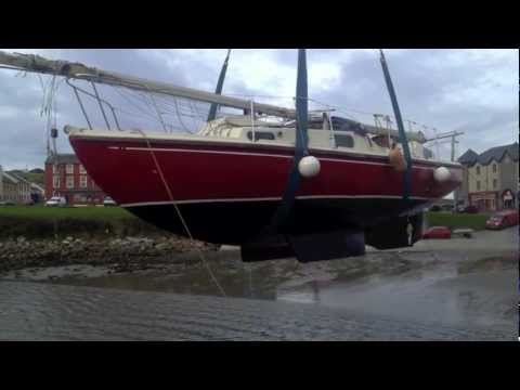 Mullaghmore Harbour Boat Lift 2012