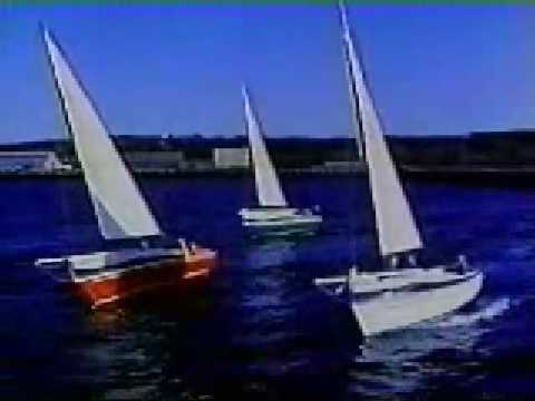 FREEDOM 21 SAILBOAT DEMO, Narrated by Gary Hoyt