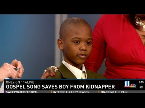 BOY SINGS THIS GOSPEL SONG UNTIL KIDNAPPER CAN'T TAKE HEARING IT ANYMORE AND SETS HIM FREE