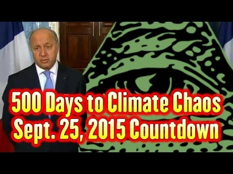 500 Days to Climate Chaos September 25, 2015 End Time Countdown Debunked