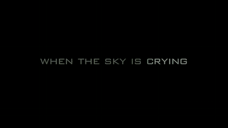 When the sky is crying