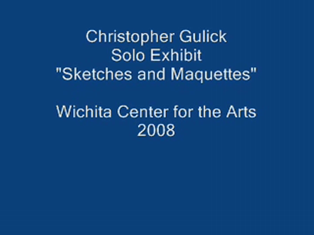 """Exhibit """"Sketches and Maquettes"""" Wichita Center for the Arts 2008"""