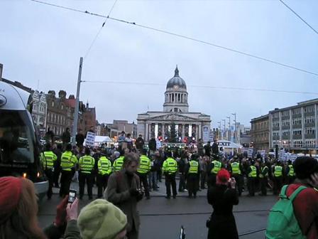 Nottingham 5th December 2009