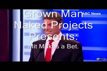 Mitt Makes a bet!