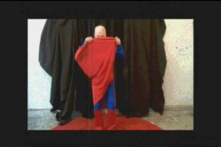 I am hank I am superman dances to the music of Joe Cocker