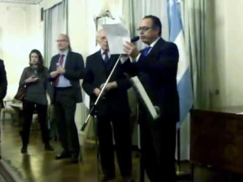L'opera di Andrea Benetti al Ministero di Giustizia a Buenos Aires
