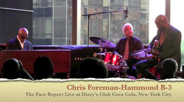 """The Pace Report: """"A Wonderful Organ Trio"""" The Bobby Broom Interview with The Deep Blue Organ Trio"""