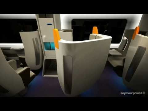 New seat layout system for rail travellers, designed by Seymourpowell