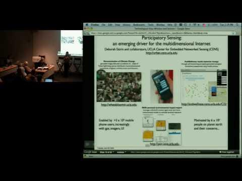 Informatics: Google Internet Summit 2009: Wireless and Sensor Technology