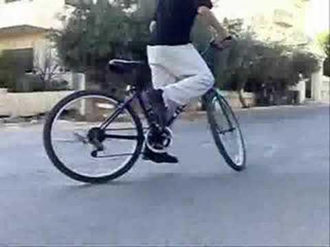 bike drifting