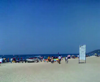 Goa - Calangute beach