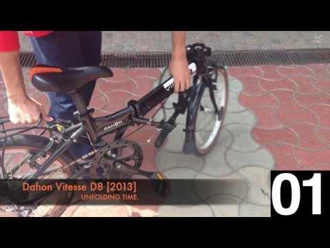 Dahon Vitesse D8 - Un-folding Time