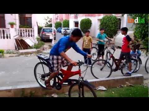 Pushpesh Baid – Cycle Stunts By Kids – Pushpesh Baid