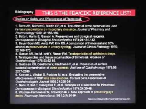 Global Vaccine Agenda - Mercury and Autism 2 of 10