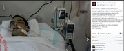Man in ICU in MX