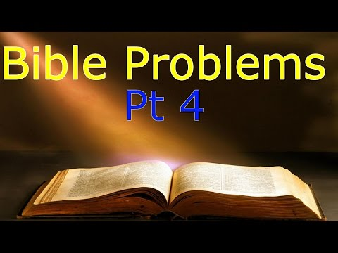 Problems With The Bible Pt 4 - Noahs Ark