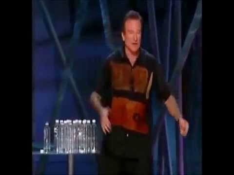 Robin Williams on politics, religions & bombs