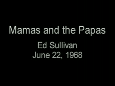California Dreaming-The Mamas & The Papas
