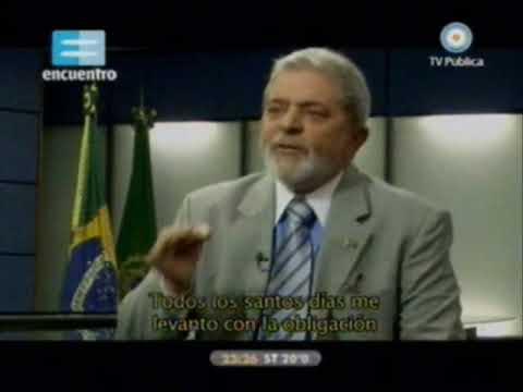 """Presidentes de Latinoamérica..."""" Lula da Silva""""-  canal 7 y Encuentro (video 1)"""
