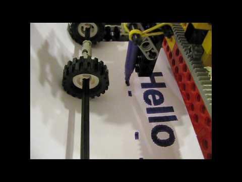 Impressora feita com Lego