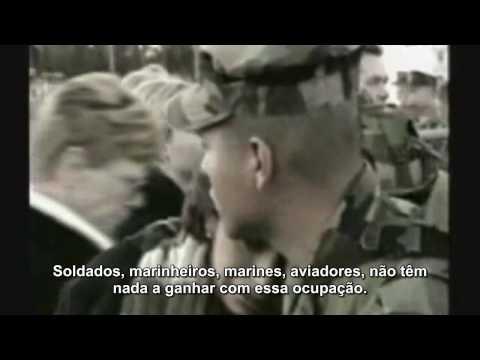 Depoimento de um soldado americano-Sensacional