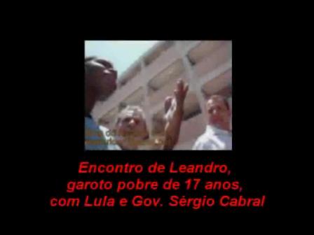 O Presidente Lulla e o Governador